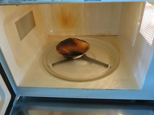 Microwave is sparking (reasons)